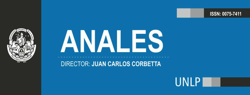 Revista Anales - Facultad de Ciencias Jurídicas y Sociales