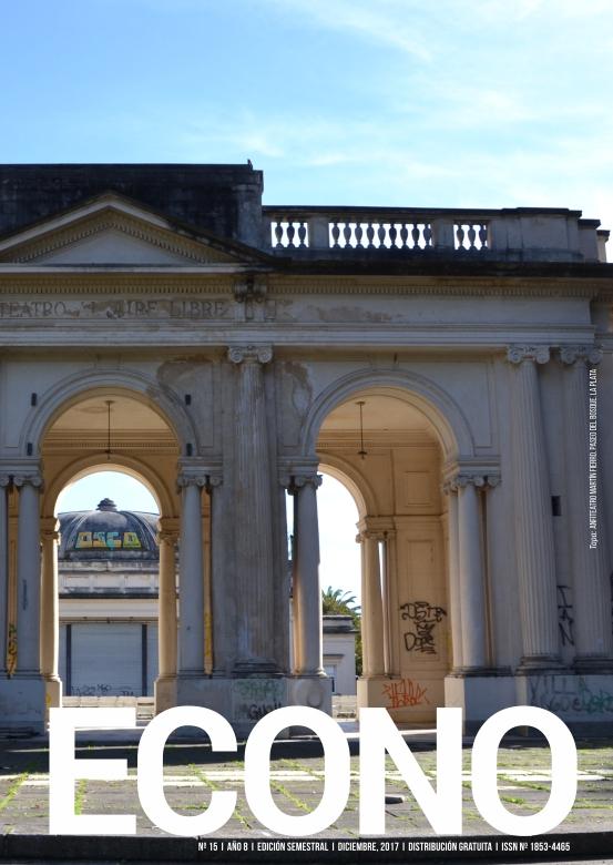 Tapa de la revista ECONO - Facultad de Ciencias Económicas, Universidad Nacional de La Plata