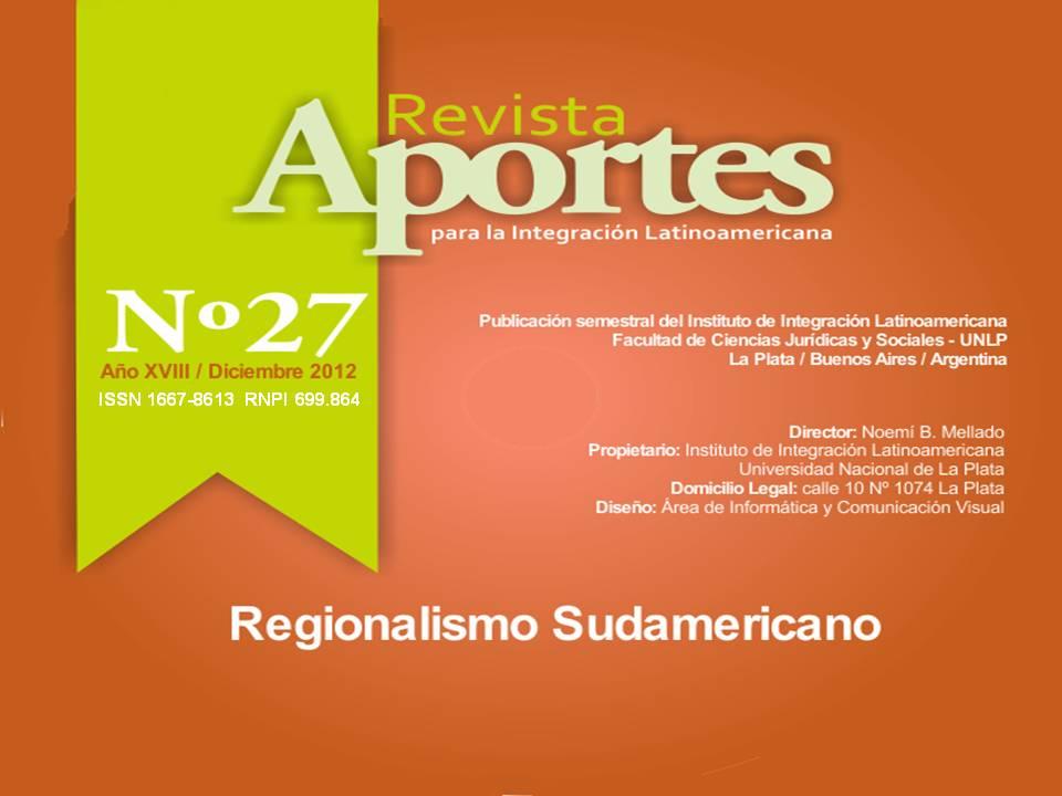 Integración productiva y desarrollo regional: tensiones en el marco ...