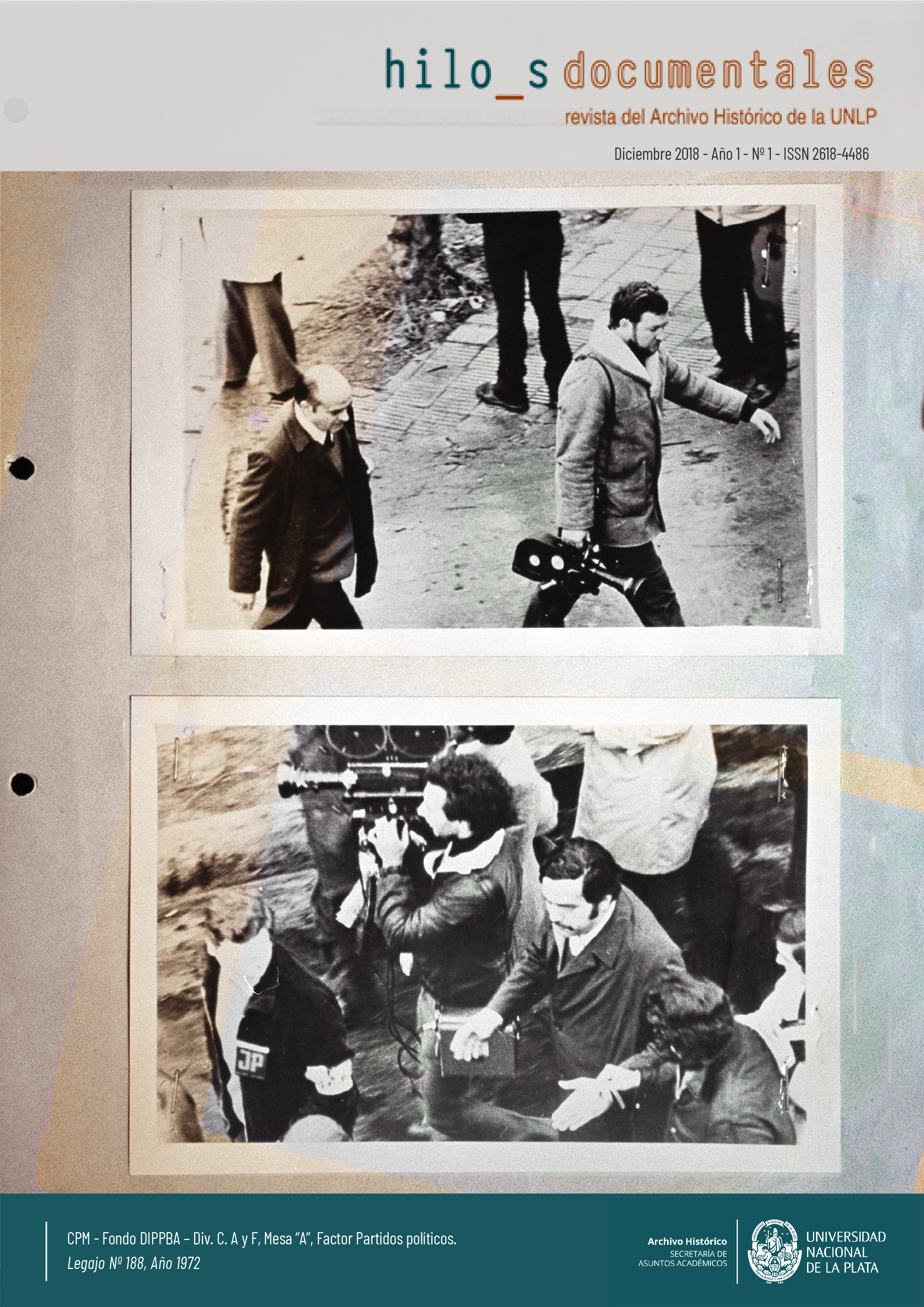 Hilos Documentales Archivo Histórico UNLP